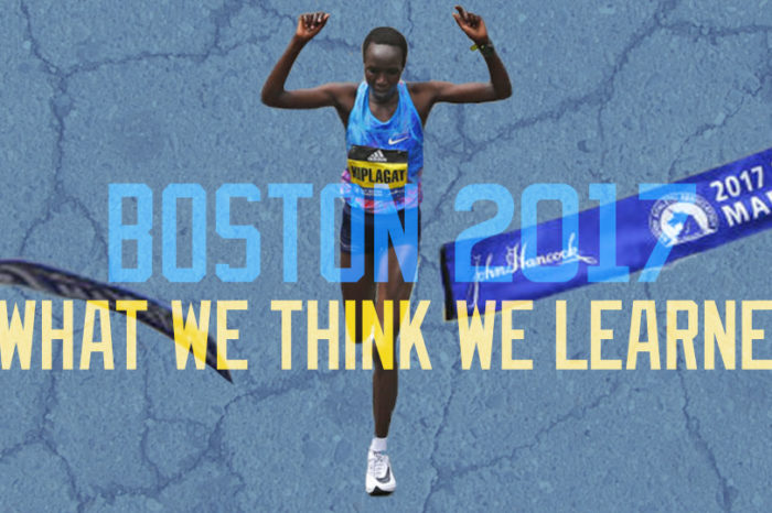 The 2017 Boston Marathon: What we think we learned