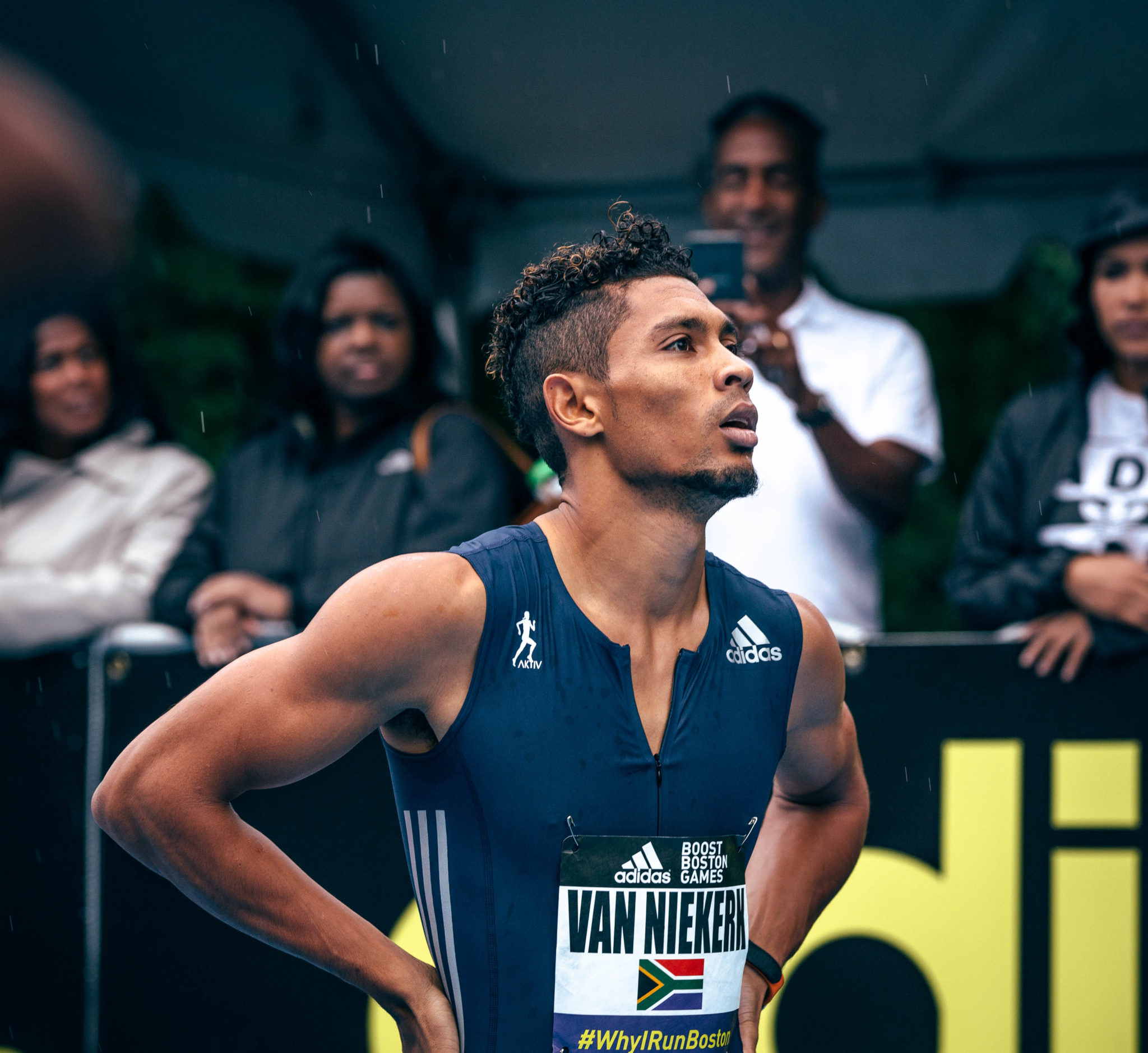 adidas boost boston games - wayde van niekerk