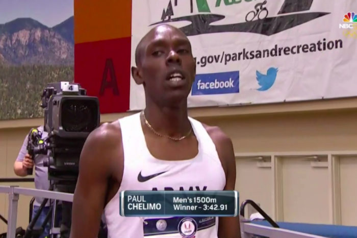 A LOT OF DOUBLING HAPPENING IN ALBUQUERQUE; CHELIMO WINS THE 1500