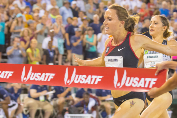 How Shelby Houlihan went from an NCAA star at 1,500 meters to a 5,000 meter Olympian