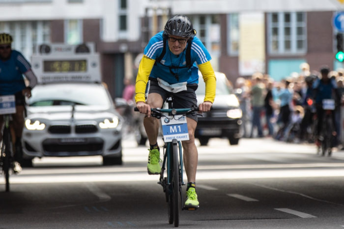Get To Know Claus-Henning Schulke: The Hero On The Bike Fueling Eliud Kipchoge