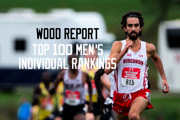 WOOD REPORT: MEN'S CROSS COUNTRY INDIVIDUAL TOP 100 RANKINGS