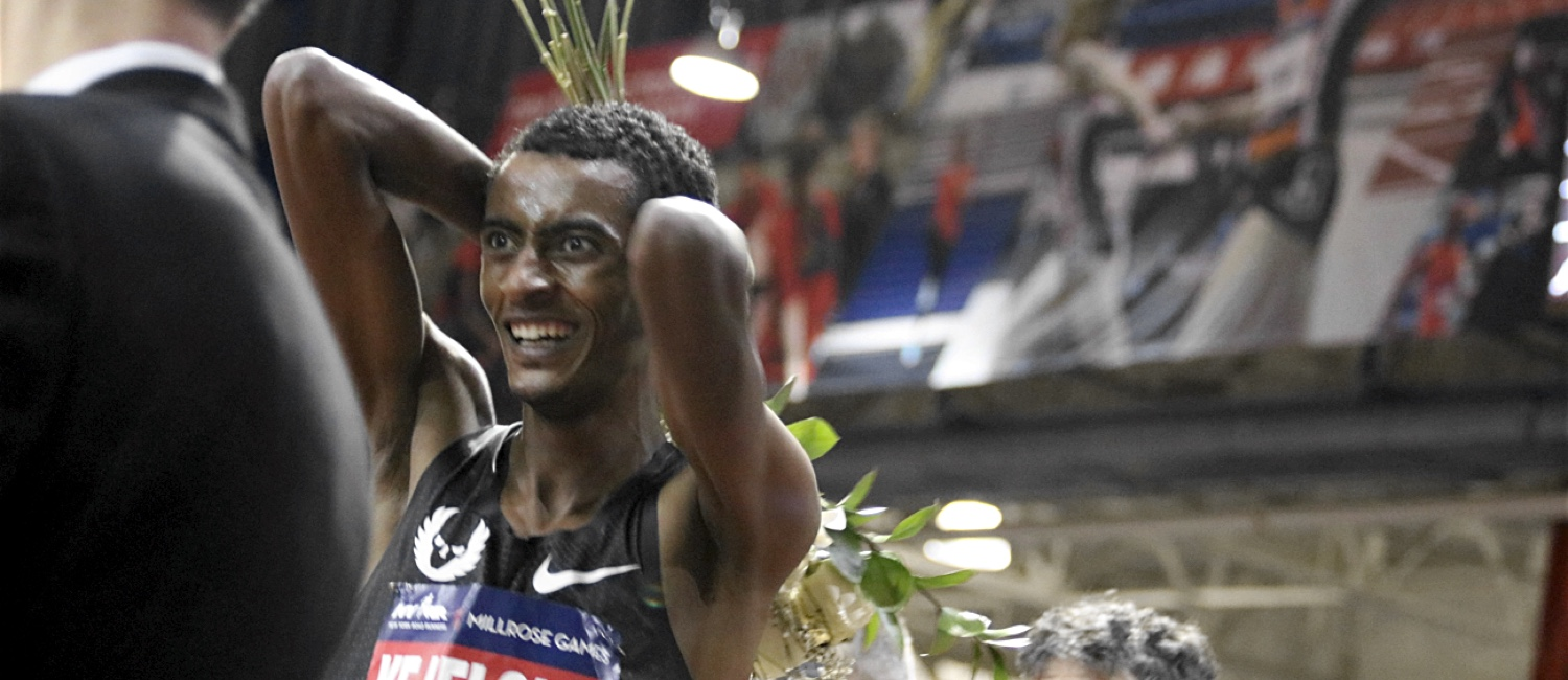 millrose games lane 9 column