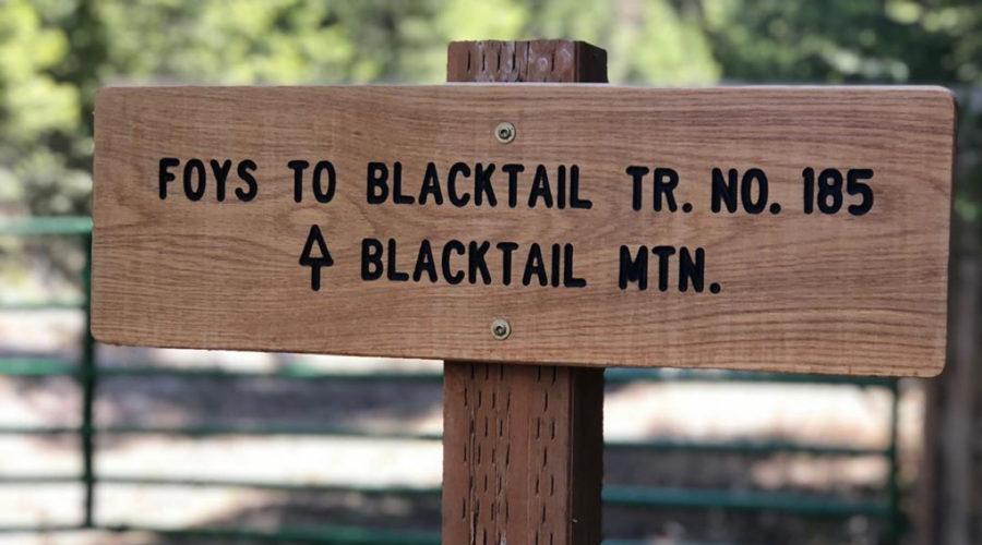 black trail mountain fastest known time