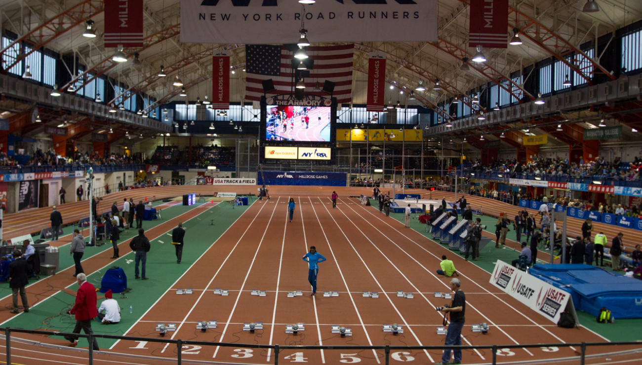 millrose games armory view
