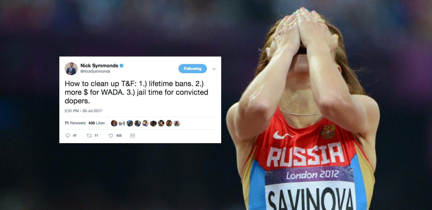 nick symmonds track and field doping
