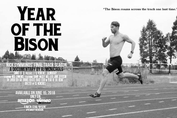 TEASER TRAILER: Year of the Bison: A Portrait of Nick Symmonds during his Final Track Season