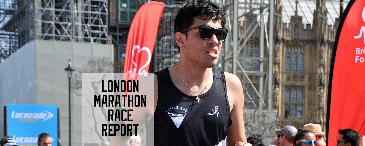 chris chavez london marathon race report