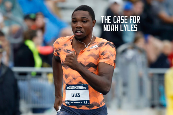 The Case for Noah Lyles for CITIUS MAG Male Runner of the Year