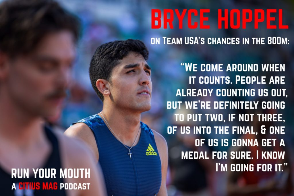 bryce hoppel run your mouth podcast